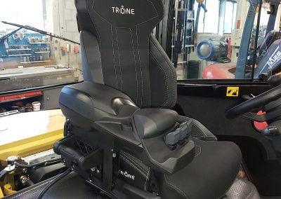 Inbouw graafmachine | Trône Seating
