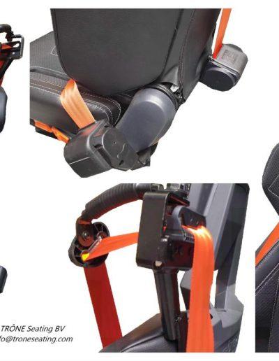 Safety belts | Trône Seating