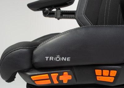 Trone-instelling-elektrisch-zijbediening